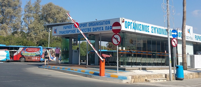 Paphos bus routes - Kato Pafos bus station