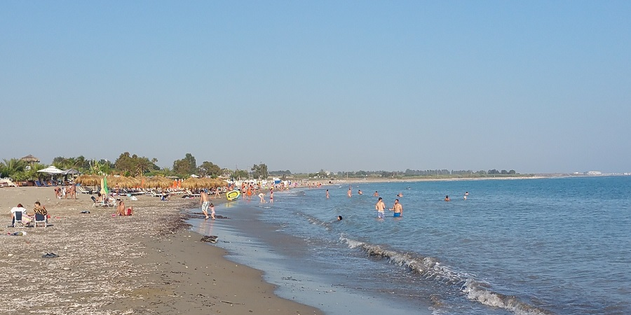 La Playa Beach, Paphos, cyprus